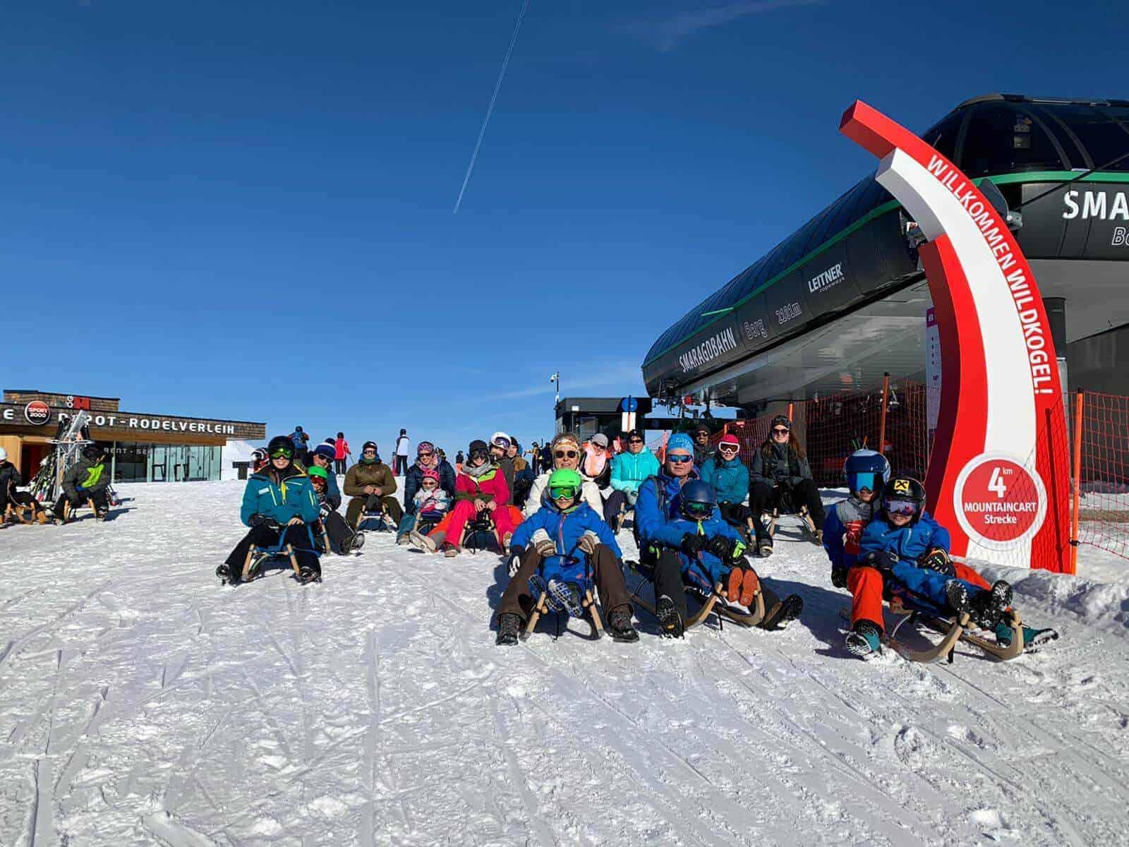 Clubausflug Rodeln Bramberg